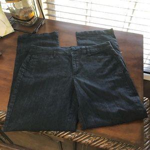 JM Collection Blue Jean Trouser Pants Size 12